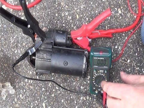 How to test your starter motor & solenoid - Starter ...
