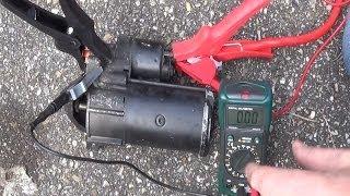 getlinkyoutube.com-How to test your starter motor & solenoid - Starter troubleshooting