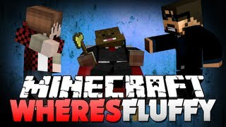 getlinkyoutube.com-Minecraft WHERE'S FLUFFY!! HE IS A BAD HIDER!! (w/ Jerome and Bajan)