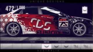 getlinkyoutube.com-Forza Horizon Speed Art AUDI S4 || UDA