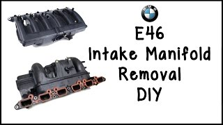 getlinkyoutube.com-BMW E39/E46 Intake Manifold Removal DIY
