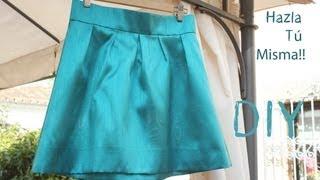 getlinkyoutube.com-DIY Como hacer y coser una falda plisada o tableada