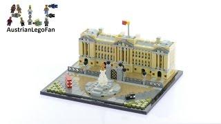 getlinkyoutube.com-Lego Architecture 21029 Buckingham Palace - Lego Speed Build Review