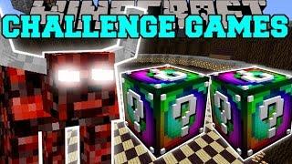 getlinkyoutube.com-Minecraft: NETHER BEAST CHALLENGE GAMES - Lucky Block Mod - Modded Mini-Game