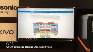 [CeBIT 2017] QNAP Enterprise NAS - ES1640dc v2