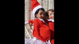 getlinkyoutube.com-BIG NEWS!: MY ELF ON THE SHELF IS PREGNANT