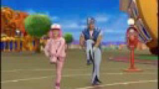 getlinkyoutube.com-LazyTown - Bing Bang The Game Extended Stephanie HQ