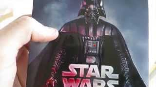 getlinkyoutube.com-NEW: Star Wars: The Complete Saga (2015) Blu Ray unboxing