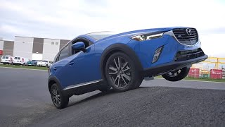 getlinkyoutube.com-Mazda Cx-3 2016 Awd diagonal test