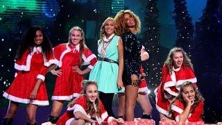 getlinkyoutube.com-Sharon Doorson en Rachel - All I Want For Christmas Is You | Junior Kerstshow