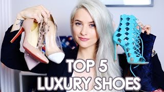 Top 5 Luxury Shoes | Valentino, Louboutin, Dior, Gianvito Rossi | Inthefrow