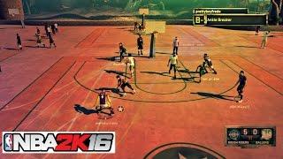 getlinkyoutube.com-NBA 2k16| BEST MYPARK PLAYER CANT BE STOPPED! 3v3 Mypark gameplay - Prettyboyfredo
