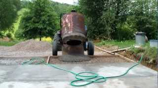 getlinkyoutube.com-Pouring cement driveway