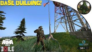 getlinkyoutube.com-ARMA 3: Exile Mod — Bornholm—BASE BUILDING (DUBSTEP)!