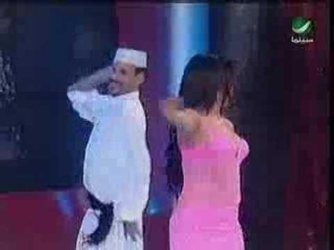 Hombre Bailando Arabe