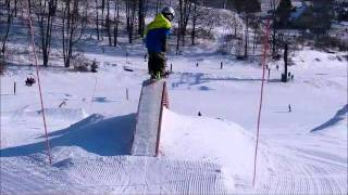 8 Year Old Michigan Freestyle Skier Luke Votaw - A Day At Crystal Mtn