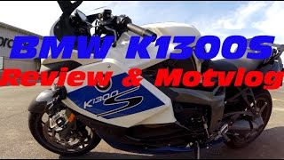 getlinkyoutube.com-BMW K1300S HP: Review, Motovlog and ZX14R & Hyabusa racing!