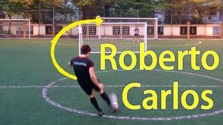 getlinkyoutube.com-Roberto Carlos Freekicks