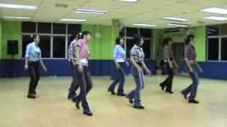 getlinkyoutube.com-JAMBALAYA - LINE DANCE