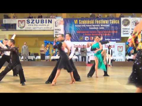 Szubin 2013 Modzie LA 14 Rumba Patryk Sowiski Roksana Grczak