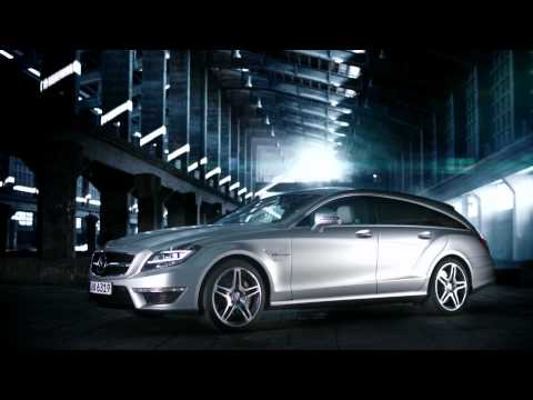 Mercedes 2013 CLS Shooting Brake HD Trailer