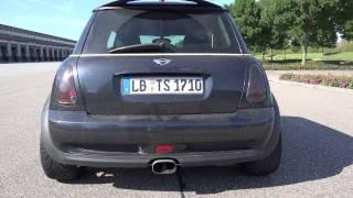 getlinkyoutube.com-Mini Cooper S R53 Kompressor Sound & Acceleration