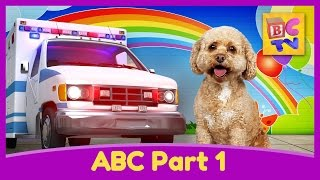 getlinkyoutube.com-Learn the Alphabet with Lizzy the Dog | ABC Video for Kids Part 1