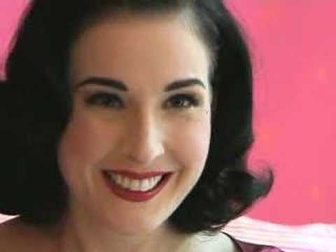 dita von tease makeup. Dita Von Teese - True Or False?