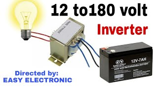 How to make 12 volt dc to 220  volt ac inverter
