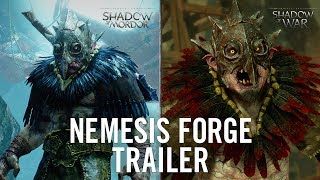 Middle-earth: Shadow of Mordor - Nemesis Forge Trailer