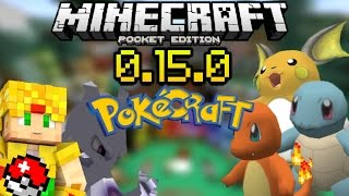 getlinkyoutube.com-Minecraft PE 0.15.0 - Pokecraft - Pokemon Texture Pack - Packs Para Pocket Edition - Texturas