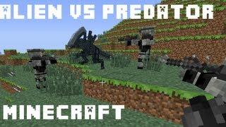 getlinkyoutube.com-MineCraft Mod Spotlight: ALIEN VS PREDATOR!!!