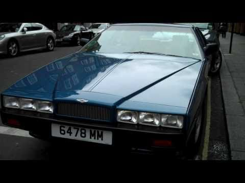 RARE Aston Martin Lagonda in London !