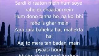 getlinkyoutube.com-Zara Zara Lyrics