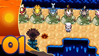 """Pokémon Discovery Rom Hack Let's Play w/ Sacred - Episode 1 """"Choose My Eeveelution!"""""""