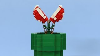 getlinkyoutube.com-Working LEGO Piranha Plant