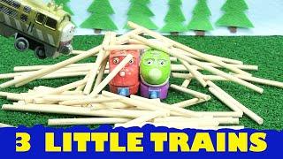 getlinkyoutube.com-Chuggington Trains Thomas and Friends Diesel a Parody of Three Little Pigs