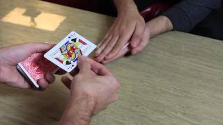 getlinkyoutube.com-David Blaine Hand Sandwich Trick (Here then There) - Card Trick Tutorial