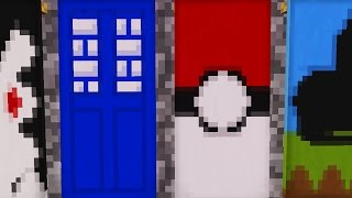 getlinkyoutube.com-Minecraft | 10 Awesome Banners in Minecraft 1.8 (Pokemon, Tardis, Spiderman, and More!)
