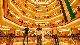 4 BILLION DOLLAR HOTEL MADE OF GOLD! width=