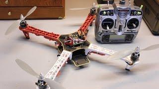 getlinkyoutube.com-Lee - Hướng Dẫn Lắp Máy Bay Quadcopter Dji F450 Setup Mạch Thunder QQ Super