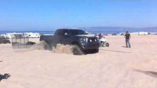 getlinkyoutube.com-Brandon H pulls out a Tundra at Pismo