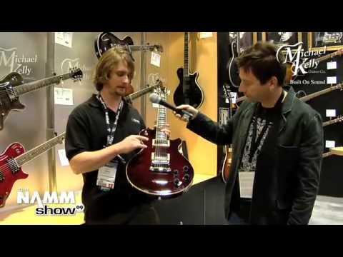 Robert Egnacheski - NAMM 2009 - Michael Kelly Guitars Booth