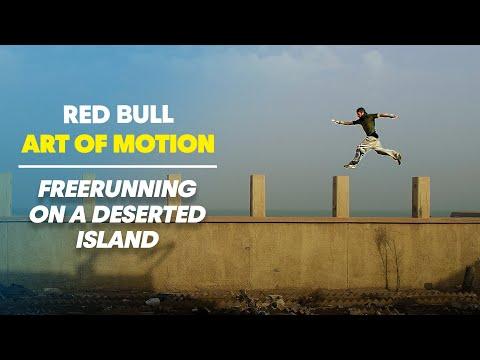 Freerunning on a Deserted Island - Red Bull Art of Motion - Kuwait
