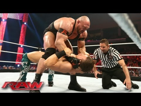 The Miz vs. Ryback: Raw, July 1, 2013