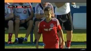 getlinkyoutube.com-Charlie Bontis scores (Toronto FC v Deportivo de la Coruna)