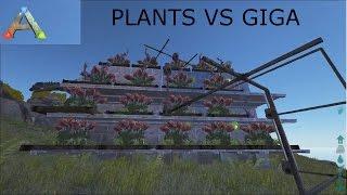 getlinkyoutube.com-Plant Species X VS Giganotosaurus | ARK