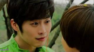 getlinkyoutube.com-Dong Joo & Woo Ri (Can You Hear My Heart) - falling slowly