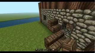 getlinkyoutube.com-Minecraft Tutorial Wassermühle bauen