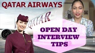 getlinkyoutube.com-Qatar Airways Cabin Crew Open Day Interview Tips (part 1)